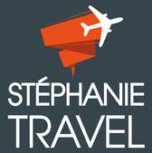 logo de l'agence de voyages St�phanie Travel anim�e par St�phanie Barbier